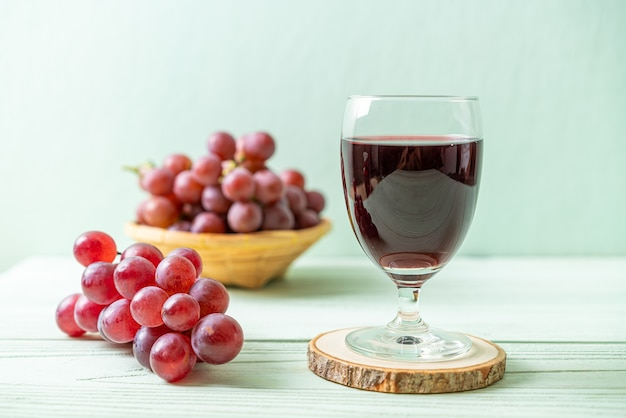 Jus de raisin frais