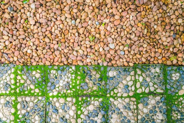 Jusqu'à la roche verte ère colorée