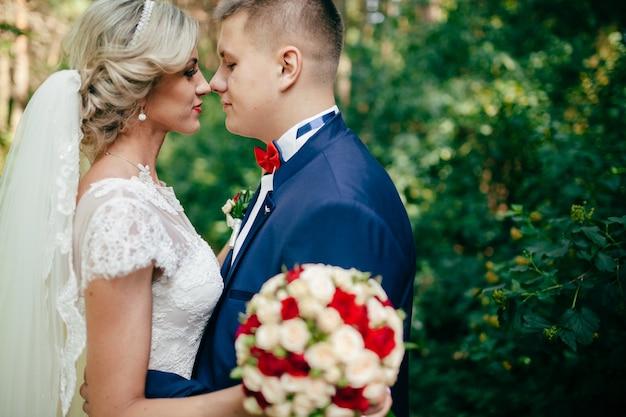 « just married bout du nez à la pointe du nez. »