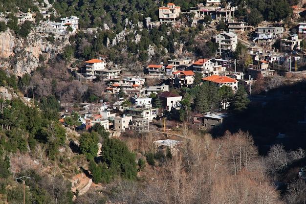 Kadisha valley dans les montagnes du liban