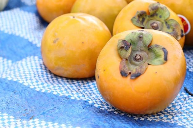 Kaki fruits à street food