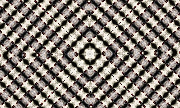 Kaléidoscope noir et blanc. motif floral monochrome. peut être utilisé pour la conception de pages de livre de coloriage, passe-temps anti-stress pour adulte. thème noir, illustration noir et blanc