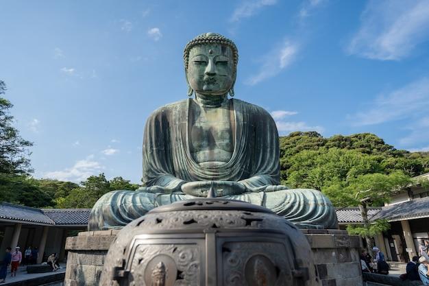 Kamakura japon. bouddha géant daibutsu à kamakura au japon