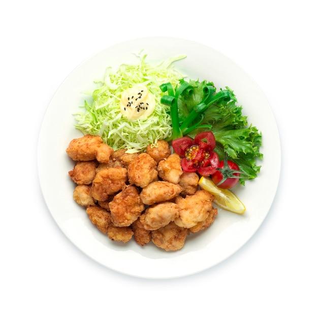 Karaage fried chicken cuisine japonaise