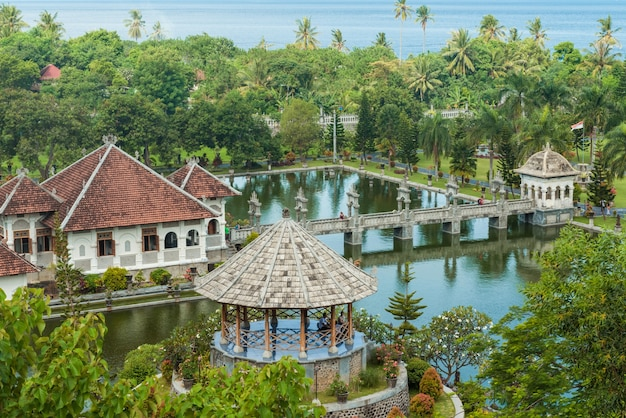 Karangasem temple du temple de l'eau à bali