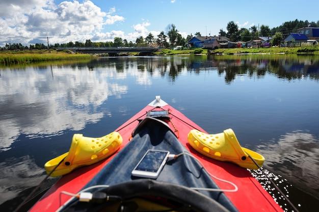 Kayak en carélie