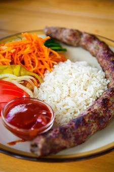 Kebab caucasien traditionnel
