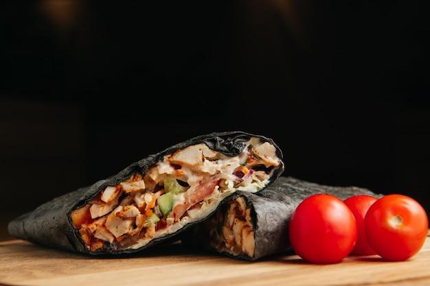 Kebab Noir Photo Premium