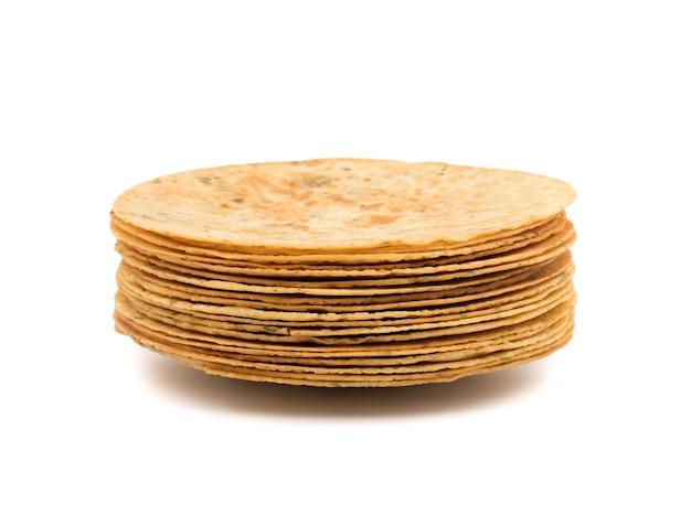 Le khakhra indien est un snack gujarati traditionnel