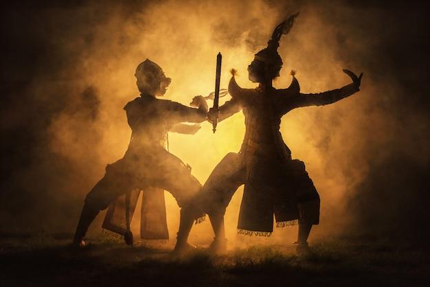 Khon est un théâtre de danse traditionnelle