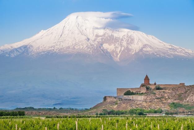 Khor virap et le mont ararat