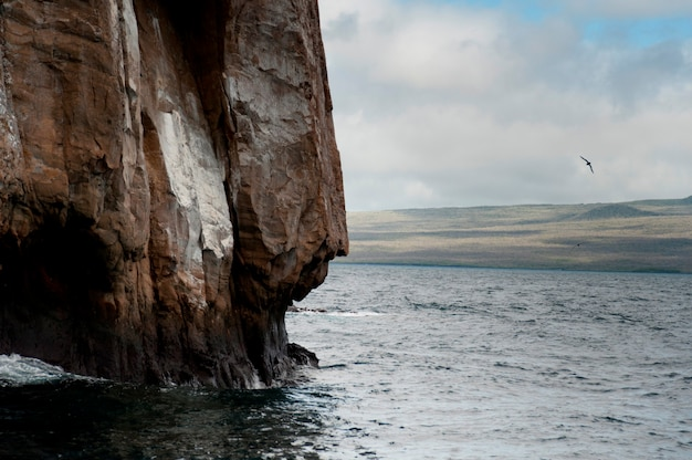 Kicker rock, île de san cristobal, îles galapagos, équateur