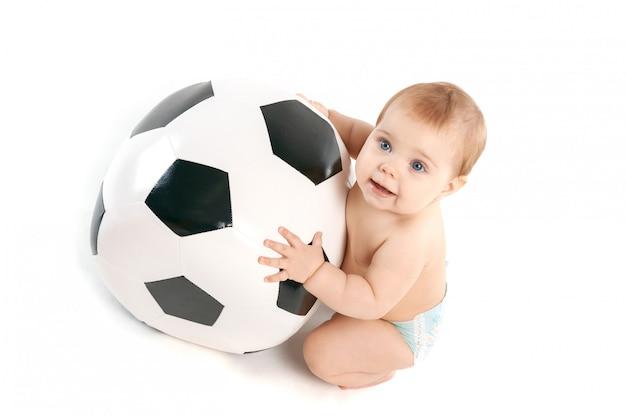 Kid avec le ballon