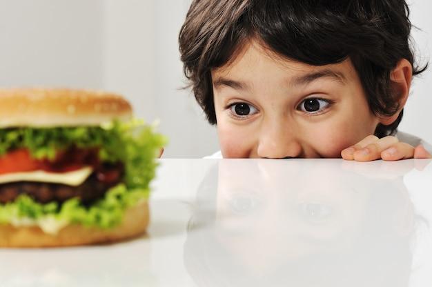 Kid et burger