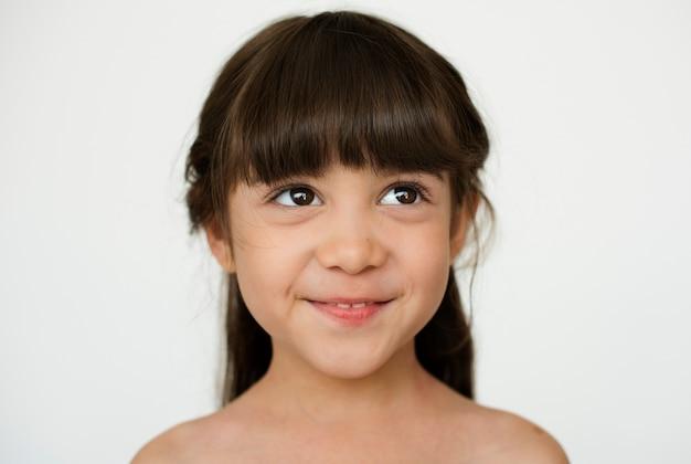 Kid childhood people race émotion studio shoot