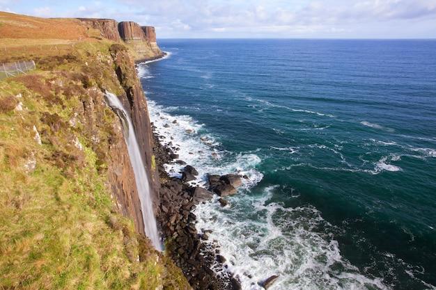 Kilt rock cascade ecosse