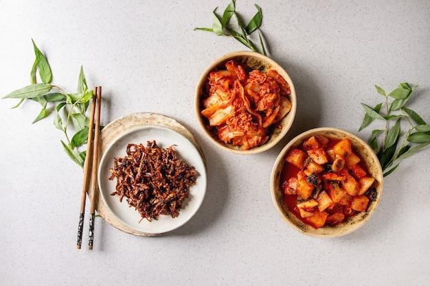Kimchi apéritif coréen