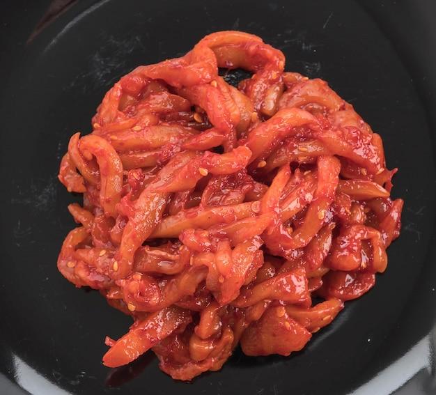 Kimchi aux calmars