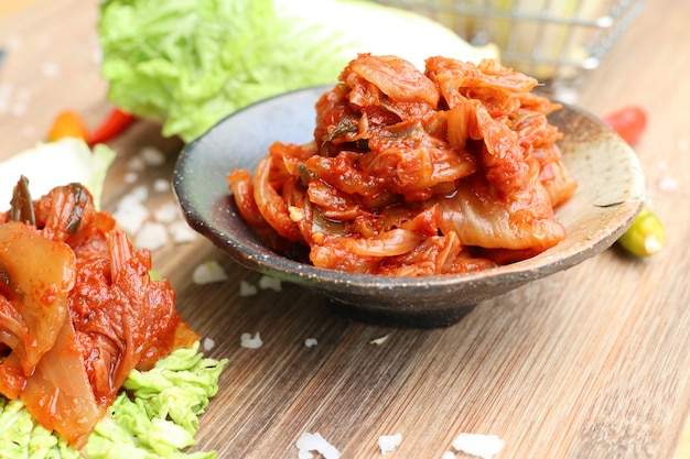Kimchi chou - nourriture coréenne