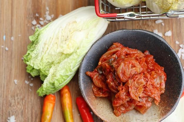 Kimchi chou
