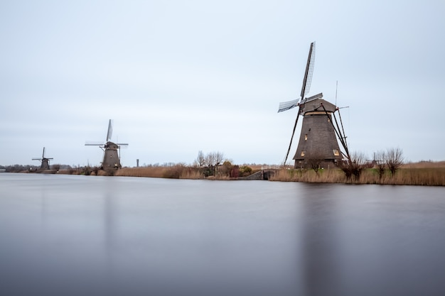 Kinderdijk en hollande