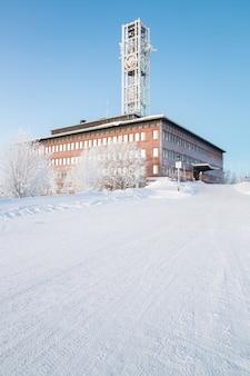 Kiruna city hall suède