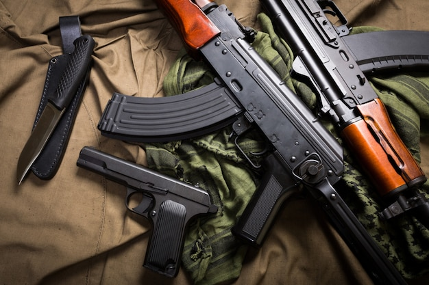 Kit d'équipement militaire russe moderne