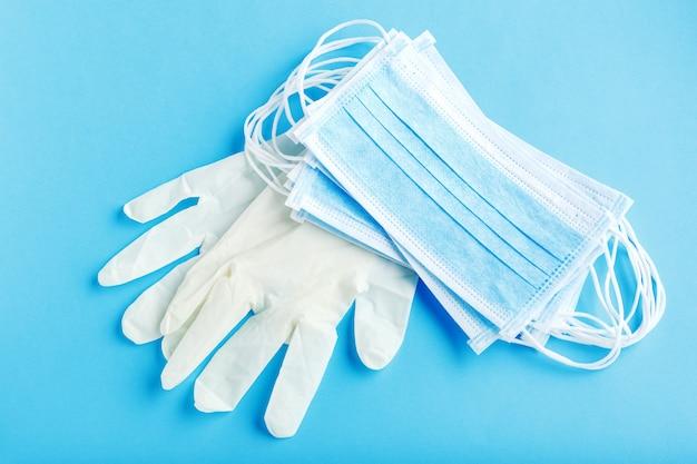 Kit de protection du visage de chirurgien médical pour travailleur médical, médecin infirmier.