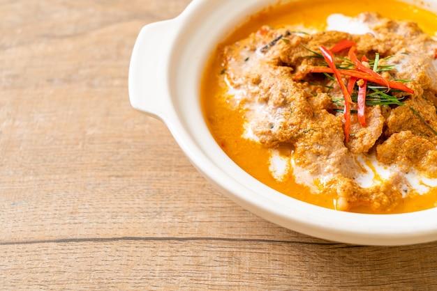 Kit repas thaï panang curry au porc - style cuisine thaï