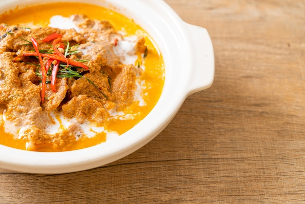 Kit repas thaï panang curry au porc