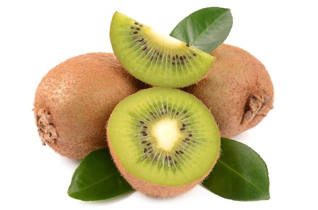 Kiwi sur un blanc