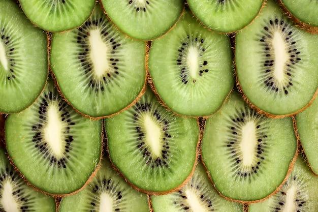 Kiwi coupe mûre