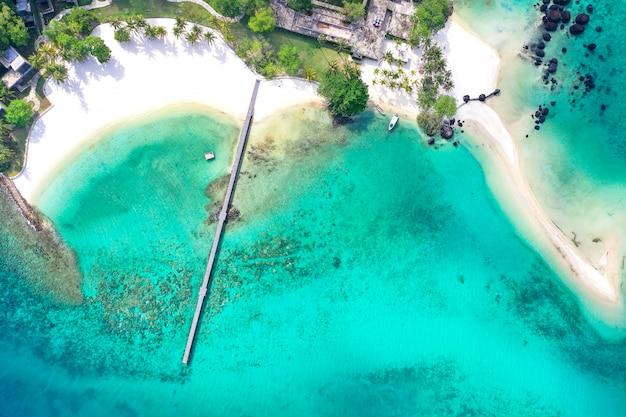 Koh kham depuis la vue du drone