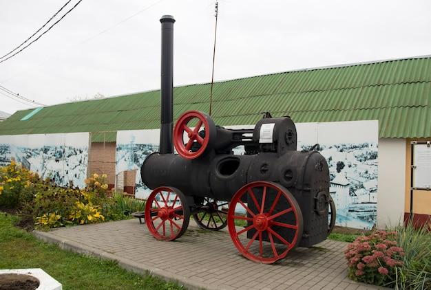 Kolomna russie 25 septembre 2021locomobile début 19e siècle