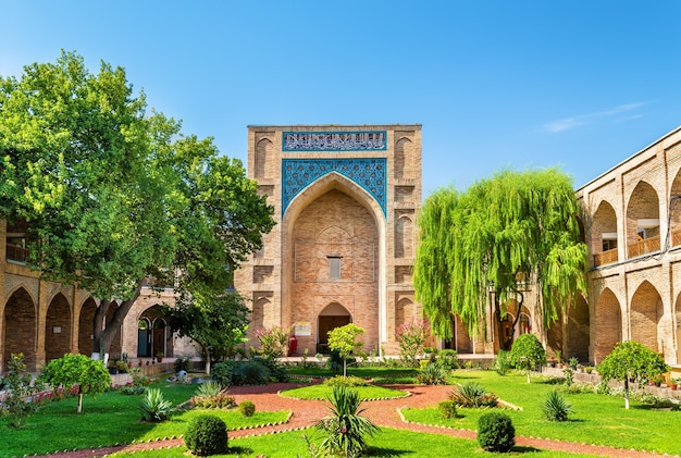 Kukeldash madrasah à tachkent en ouzbékistan