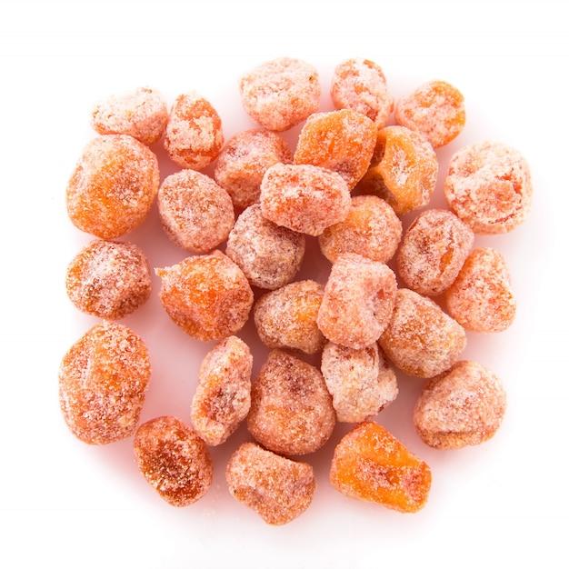 Kumquat orange séché