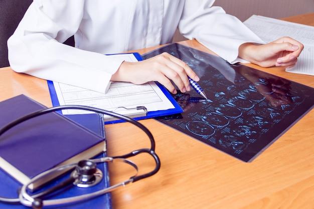 Laboratoire médical lieu de travail