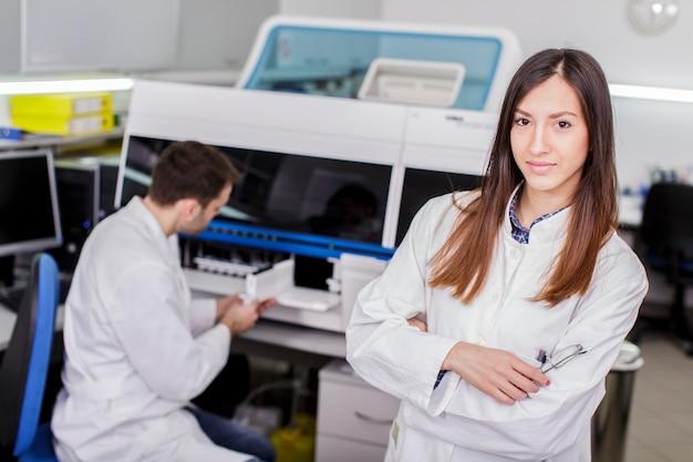 Laboratoire médical moderne