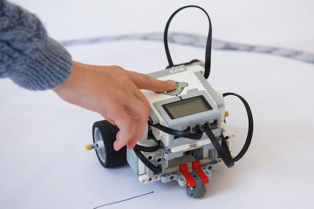 Laboratoire de robotique à l'école