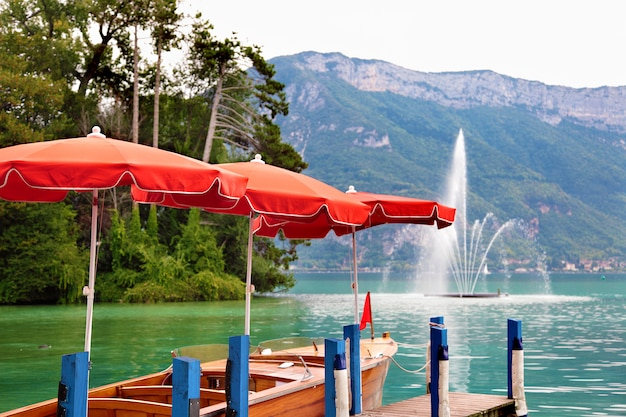 Lac d'annecy france
