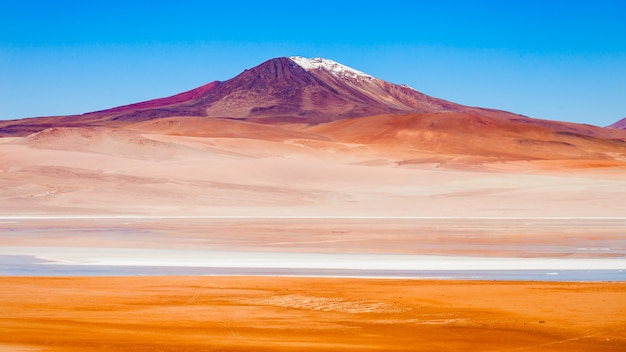 Lac, bolivie altiplano