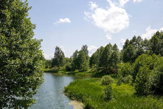 Lac en été