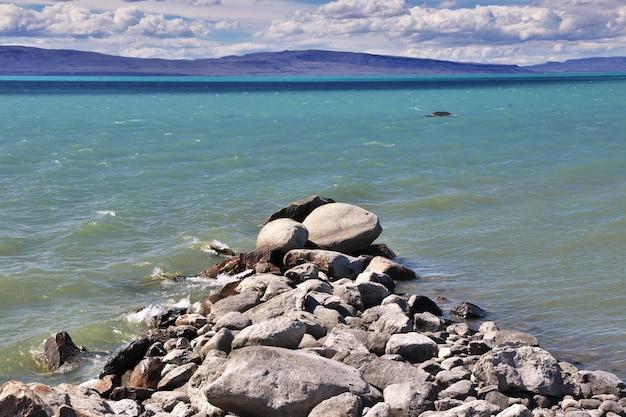 Lac lago argentino fermer el calafate en patagonie, argentine