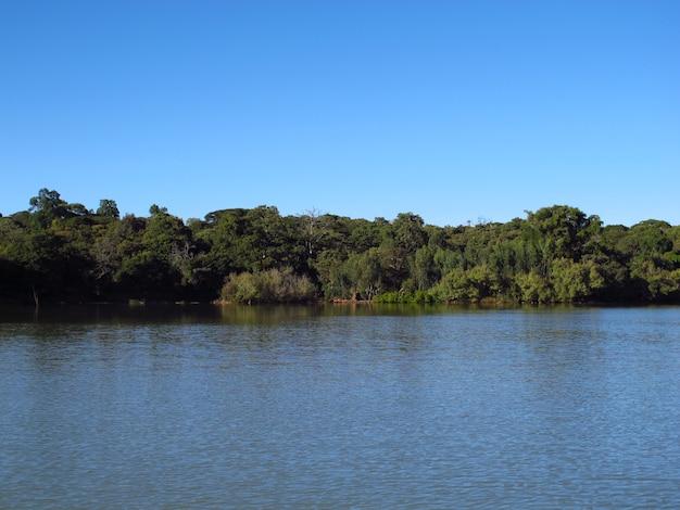 Lac tana en ethiopie, afrique