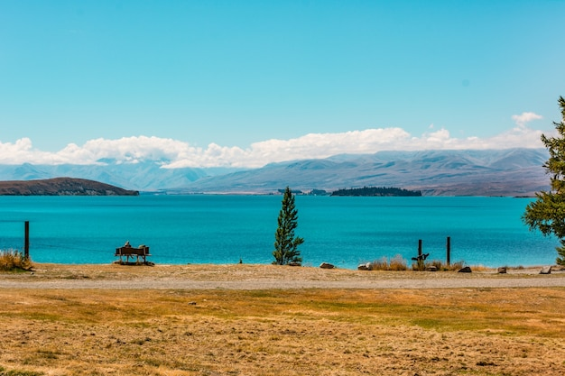Lac tekapo nouvelle-zélande