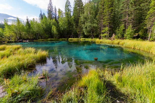 Le lac thermal vert