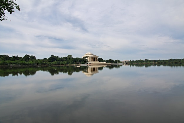 Le lac à washington, états-unis