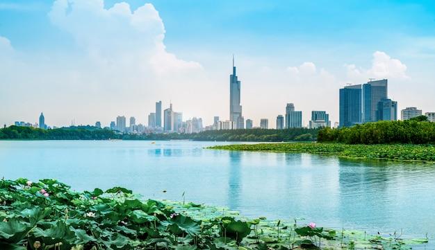 Lacs urbains et architecture moderne