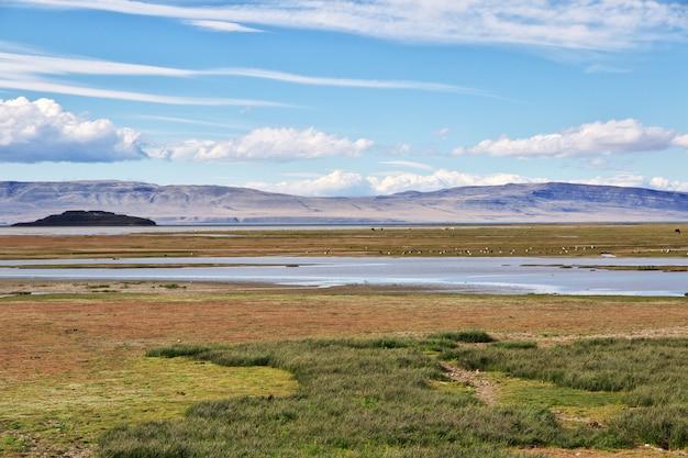 Lago argentino à el calafate, patagonie, argentine