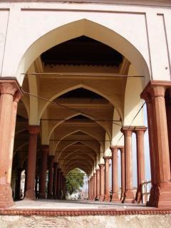 Lahore colonnes fort shahi